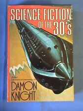 Science Fiction Of The 30's Edited by Damon Knight 1975 Fine Book Club Edition