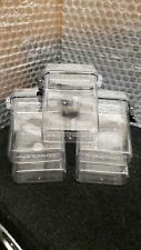 Tru Utility Clear Plastic Water Tight Storage Containers updated qty 5 pack lot