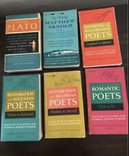 Lot of 6 Viking Portable Library Poets And Plato