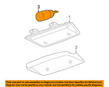 GM OEM Interior-Rear-Bulb & Socket 25085970