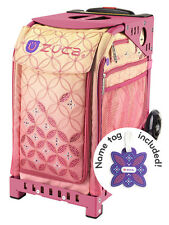 ZUCA Bag SUNSET Insert & Pink Frame w/Flashing Wheels - FREE SEAT CUSHION