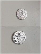 Julius Caesar Denarius Solid Silver
