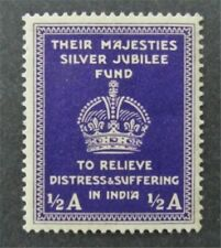 nystamps British India Stamp Used Unlisted
