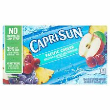 Capri Sun Pacific Cooler Fruit Juice Drink Blend, 10 count, 60 FL OZ (1.77l)