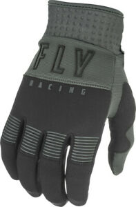 Fly Racing F-16 Glove (SZ 10, Black/Grey)