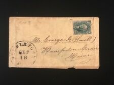 CA FIDDLETOWN (?) COVER #32 WITH 4 MARGINS, WEISS OPINION ON REVERSE