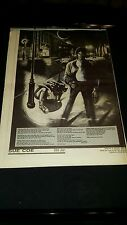 Michael Jackson Rare Original Billie Jean U.K. Promo Poster Ad Framed!