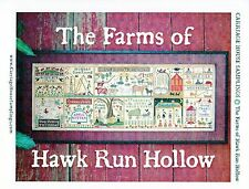 Farms of Hawk Run Hollow Cross Stitch Chart Pack - Carriage House Samplings