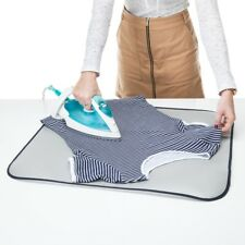 Minky Table Top Metallic Ironing Pad - Portable Ideal for Travel Holiday