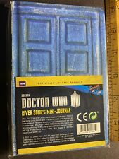 1Pc Doctor Who River Song's Tardis Mini-Journal Time Machine Diary Notebook