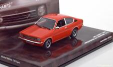 OPEL KADETT C COUPE IAA FRANCFORT 1973 RED MINICHAMPS 436045620 1/43 PRESENTATIO
