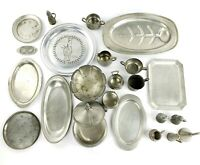 9+ lbs Assorted Vintage Pewter All Marked But One