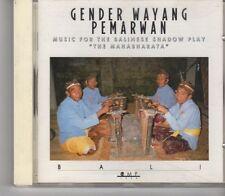 (FX407) Gender Wayang Pemarwan, The Mahabharata - 1989 CD