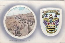 Heraldic Crest & Promenade, South Shore, BLACKPOOL, Lancashire