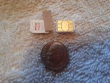 Lot of 2 Verizon 4G Lte Nano Sim Cards Testing&Bypass Only! Not For Activation!