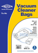 5 x ROWENTA Vacuum Cleaner Bags ZR-76 Type RS180, RS200, RS210, RS211, RS215
