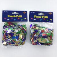 Graduation Cap Confetti, Lot 6 Bags, Multicolor Grad Hat Party Table Decoration