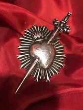 sacro cuore spada addolrata accessorio ex voto barocco ReturnToBaroque fiamma