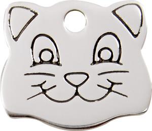 médaille gravée red dingo pour chat