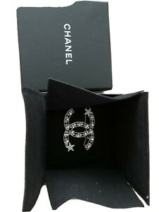 NEW Authentic Chanel 2020 Crystal Hair Clip (with receipt pic)