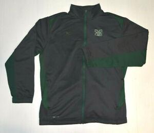 Nike Dri-Fit Full Zip Marshall Thundering Herd Jacket Men's XL With Pockets--B32