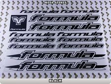FORMULA Stickers Decals Bicycles Bikes Cycles Frames Forks Mountain MTB BMX 62P