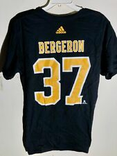 adidas  NHL T-Shirt Boston Bruins Patrice Bergeron Black sz L