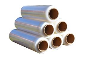 Stretch Film Clear 25U 500MM x 400M Cast Plastic Pallet Shrink Hand Use Wrap