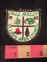 Vtg 1962 FALL RALLY ST. LOUIS AREA COUNCIL BSA Boy Scouts Patch 89V1