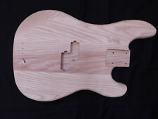 Ash P-Style Bass Guitar Body Rear Routed