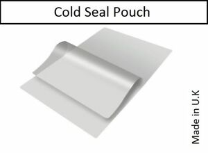 100 x SELF ADHESIVE COLD SEAL LAMINATING ID POUCHES. CREDIT CARD SIZE 86x54mm