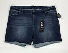 A48 Women's Celebrity Pink Trending Now Dare you Cut Off Jean Shorts Size 22