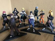 Natural Shippuden DXF Figure Set Of 8 (Shinobi Relations Collection)