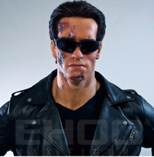 Life Size Terminator Statue Arnold Schwarzenegger Movie Prop Display Style 1:1