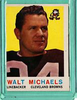1959 Topps #26 Walt Michaels Cleveland Browns ExMt