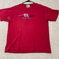NASCAR Short Sleeve T-Shirt Men's Size Large Red Dale Earnhardt Jr