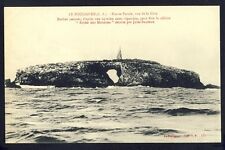 Carte Postale Ancienne FRANCE 44 - LE POULIGUEN Pierre Percée ROCHE aux MOUETTES