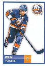 16/17 PANINI NHL STICKER DRAWING #125 JOHN TAVARES ISLANDERS *24789