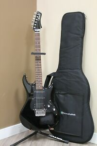 Rare 80's Vantage Avenger Electric Guitar - Black