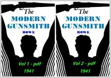 The Modern Gunsmith - by Howe - 2 Vols on CD in PDF - 951 Pages