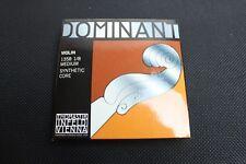 Thomastik Dominant 135B Violin String  Set 1/8  E Ball End New in Box!