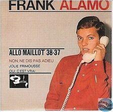 FRANK ALAMO ALLO MAILLOT 38-37 CD SINGLE EP 4T no vinyl