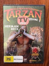 The New Adventures Of Tarzan: Volume 1 DVD Region All New & Sealed Herman Brix