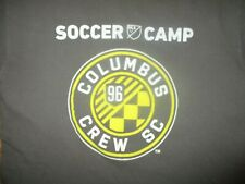COLUMBUS CREW MLS SOCCER CAMP T SHIRT Major League Soccer Adidas Adult MEDIUM