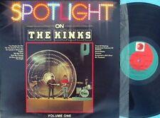 Kinks ORIG OZ LP Spotlight on NM '81 PRT SPOT1009 Pop Rock Ray Davies