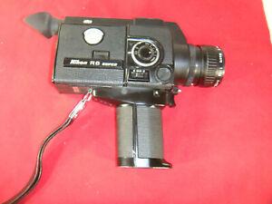 Nikon R8 Super 8mm Movie Cinema Film Camera Excellent Condition!