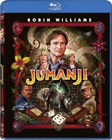 Jumanji Remastered Blu-ray 2017 BRAND NEW FAST SHIPPING