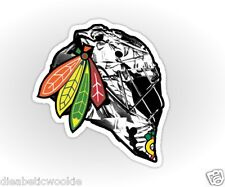 Chicago CHI Blackhawks Hockey Stanley Cup 2015 2013 Sticker decal car laptop
