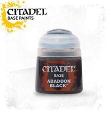 Abaddon Black Citadel Paint Warhammer 40K NIB Flipside