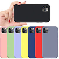 COVER per Iphone 11 /Pro Max Custodia Silicone Gel Gomma TPU Slim Anti-impronte